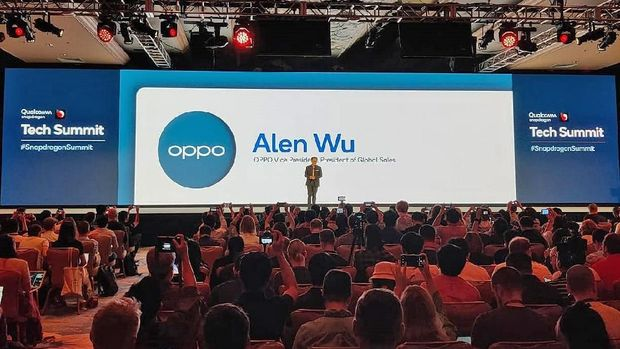 Alen Wu, Oppo Vice President and President of Global Sales.