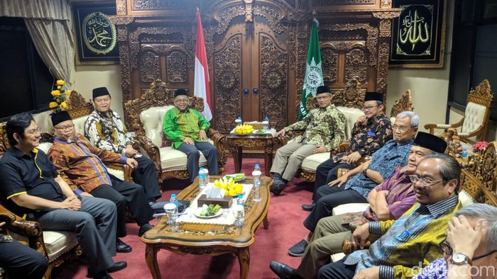 Pertemuan PKS dan Muhammadiyah. (Jefrie NS/detikcom)