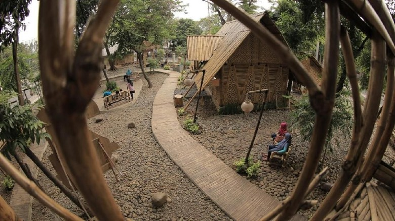 Taman Bambu di Kota Tangerang (Foto: Istimewa)