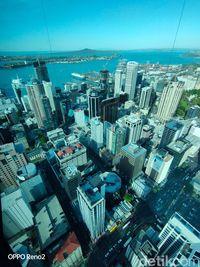 Selayang Pandang Kota Auckland dari Ketinggian