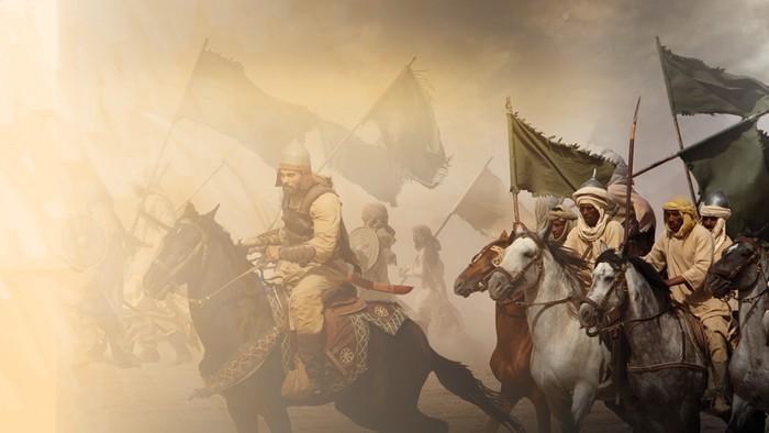 ilustrasi perang badar : Fauzan Kamil/detikcom
