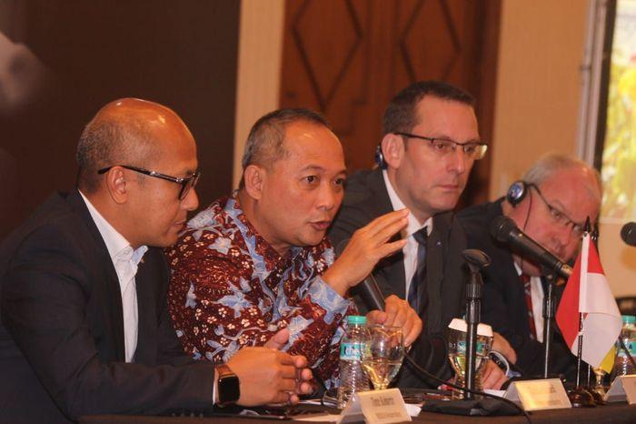 """Rencana partisipasi Bosch itu disampaikan dalam konferensi pers """"Partner Country Indonesia at Hannover Messe 2020"""" yang diselenggarakan Rabu (4/12) di Jakarta. Foto: dok. Bosch"""