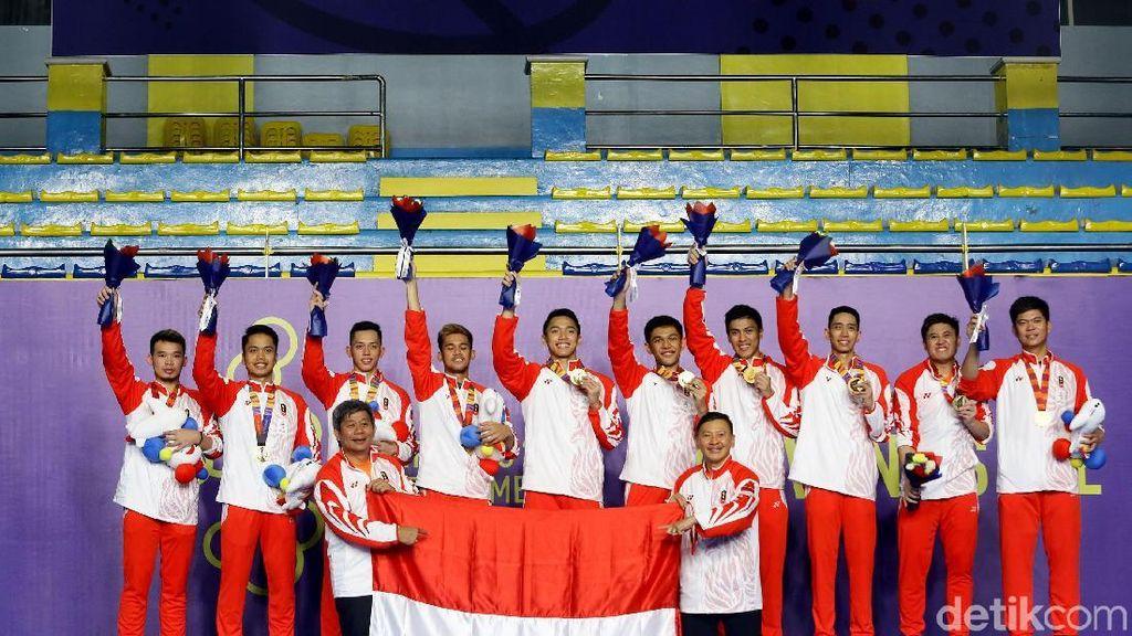 5 Fakta Setelah Indonesia Segel Emas Bulutangkis Beregu Putra SEA Games