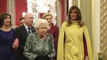 Bertemu Ratu Elizabeth II Lagi, Melania Trump Pakai Coat Rp 108 Juta