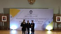 Resmi Jadi Rektor, Ari Kuncoro Pidato soal Social Capital dan UI
