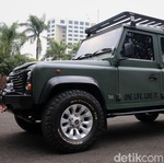 Modifikasi Land Rover Defender Sang Jenderal