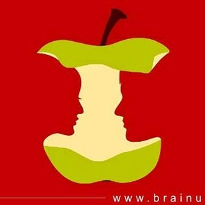 Tes Psikologi: Gambar Siluet Pasangan atau Apel yang Jadi Fokusmu?