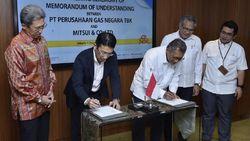 PGN dan MITSUI Kerja Sama Pengembangan Infrastruktur Gas Bumi