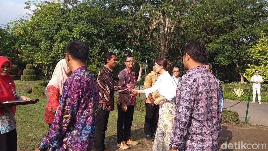 Putri Mahkota Denmark Kunjungi Borobudur, Minta Dijelaskan Soal Relief