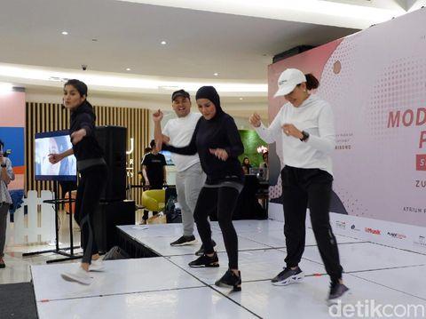 Olla Ramlan Rilis Baju Olahraga Khusus Hijabers, Dijual Rp 300 Ribuan