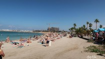 Potret La Mer, Pantai Berbikini di Dubai