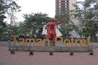 Taman Potret di Kota Tangerang