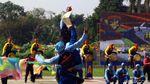 Aksi Para Polisi Udara Unjuk Keterampilan di HUT Korpolairud