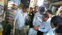 Pantau Pasar di Medan, Gubsu Edy Tegur Pedagang yang Jual Beras Bau Apek