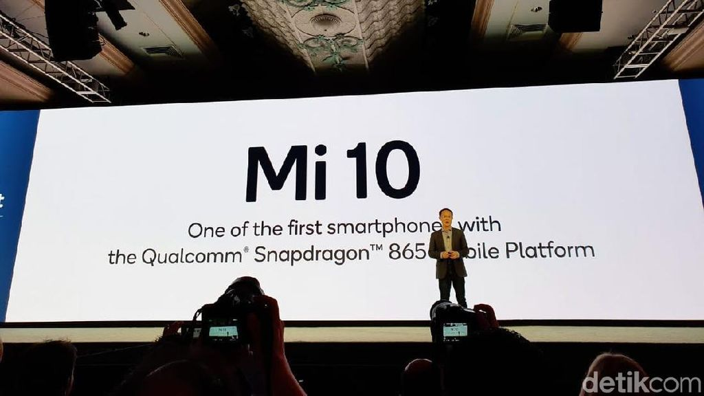 Xiaomi Pastikan Mi 10 Ditenagai Snapdragon 865