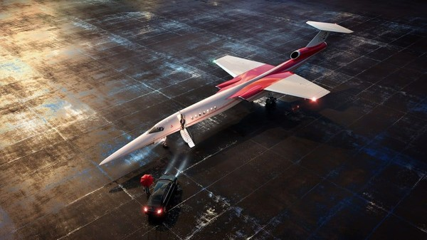 Ada dua perusahaan AS yang berencana menyajikan pesawat supersonik ke pasar pada pertengahan 2020-an. Pesawat yang ini buatanAerion Corporation, namanya AS2 (Foto: Aerion/CNN)