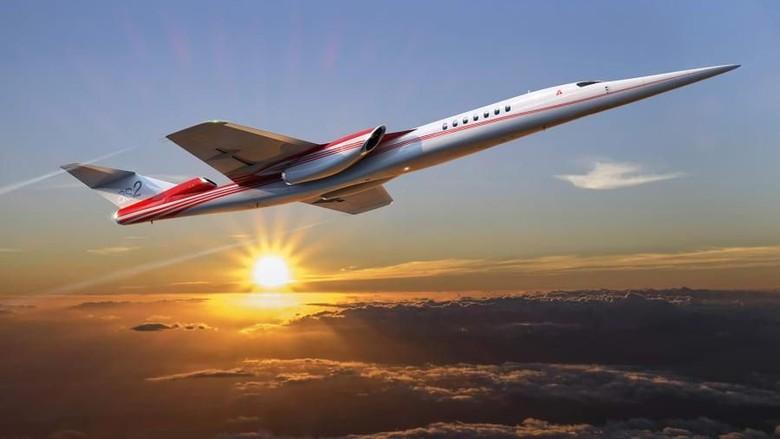 Pesawat supersonik AS2 (Foto: Aerion/CNN)