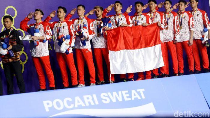 Timnas Indonesia menambah 5 medali emas pada Rabu (4/12/2019). Sementara kontingen merah putih berada di peringkat 5. (Foto: Grandyos Zafna/detikSport)