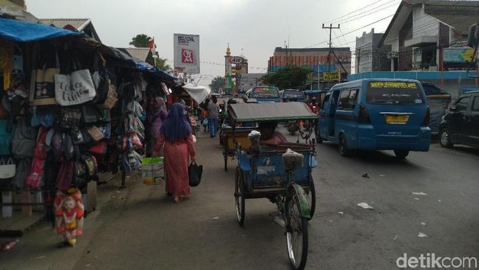 PKL di Pasar Citeureup, Kabupaten Bogor (Foto: Sachril Agustin/detikcom)