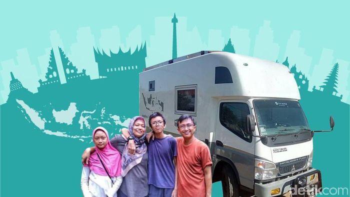 Naik Truk Keliling Indonesia