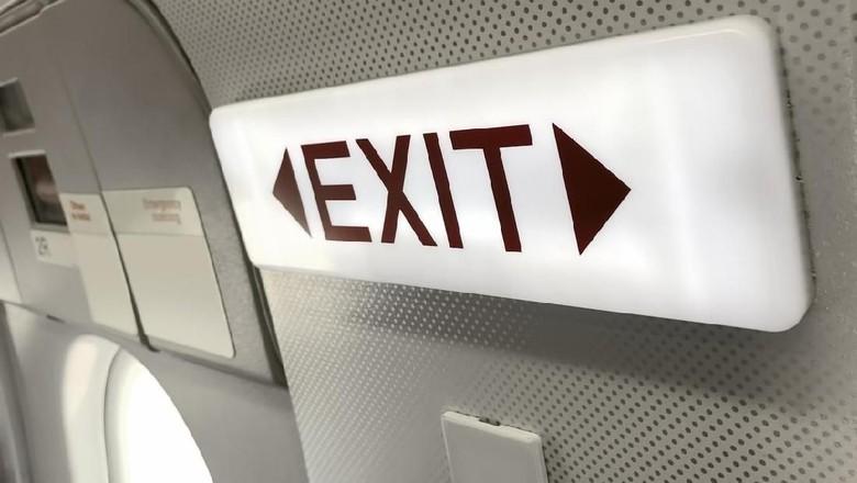 Ilustrasi pintu pesawat. (Foto: iStock)