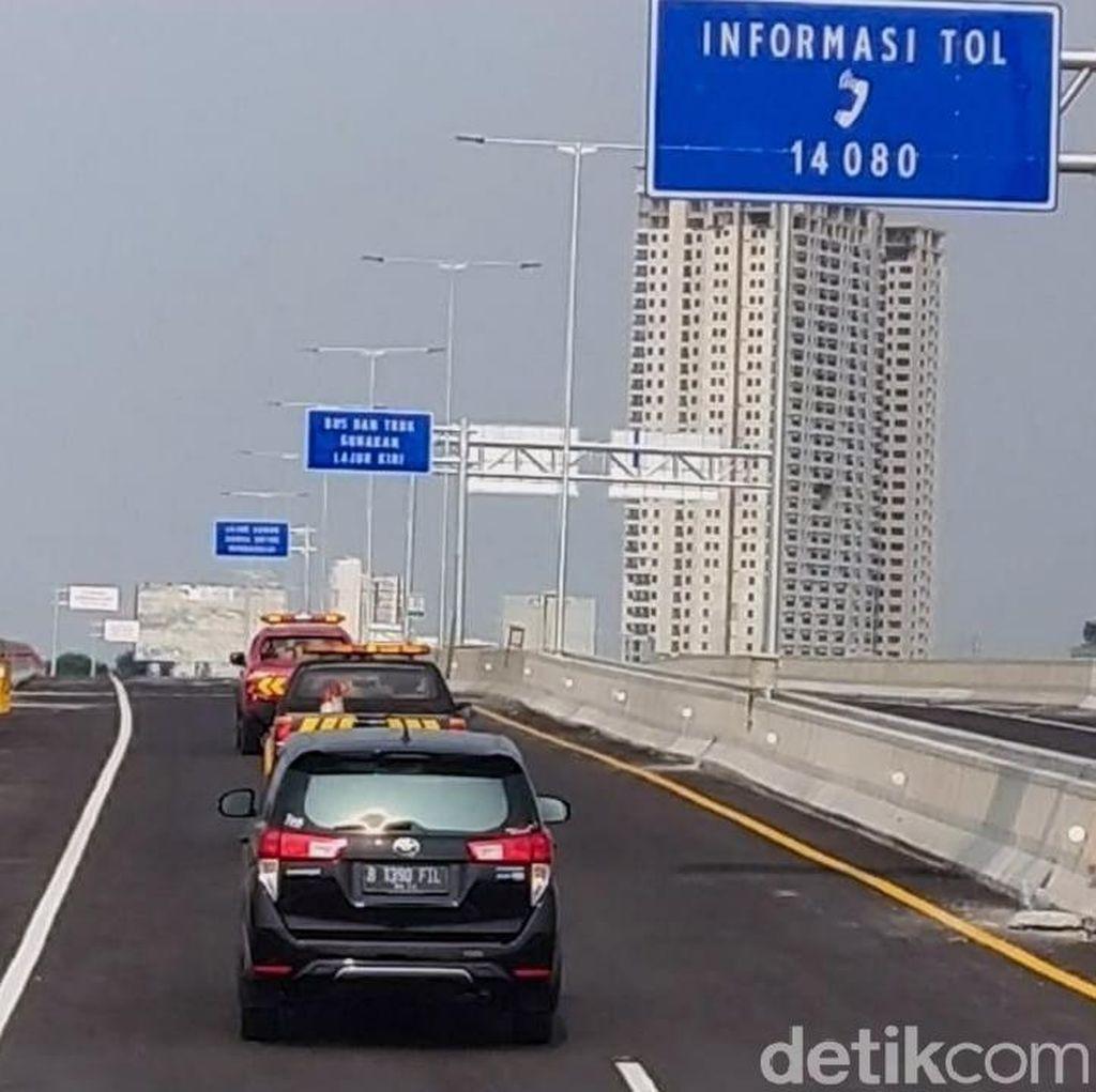 Tol Layang Japek 38 Km Tanpa Exit, Bagaimana Jika Ada Kecelakaan?