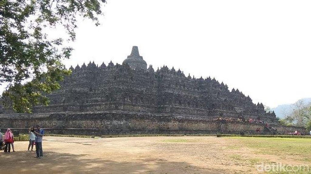 Liburan Akhir Tahun, Candi Borobudur Kejar Target Wisatawan