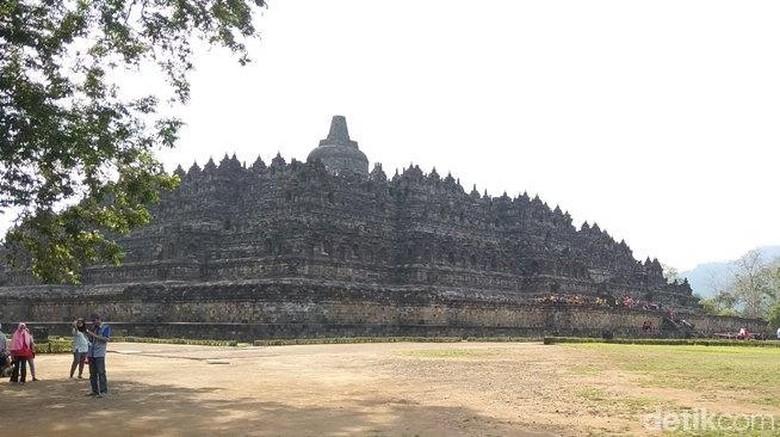 Candi Borobudur di Magelang. (Eko Susanto/detikcom)