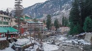 Terpesona Salju di India Utara