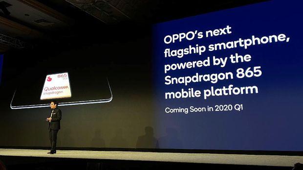 Oppo memastikan akan merilis ponsel yang ditenagai Snapdragon 865.