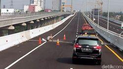 Sensasi Tol Layang Jakarta-Cikampek, Dijejali Truk pun Dijamin Kuat