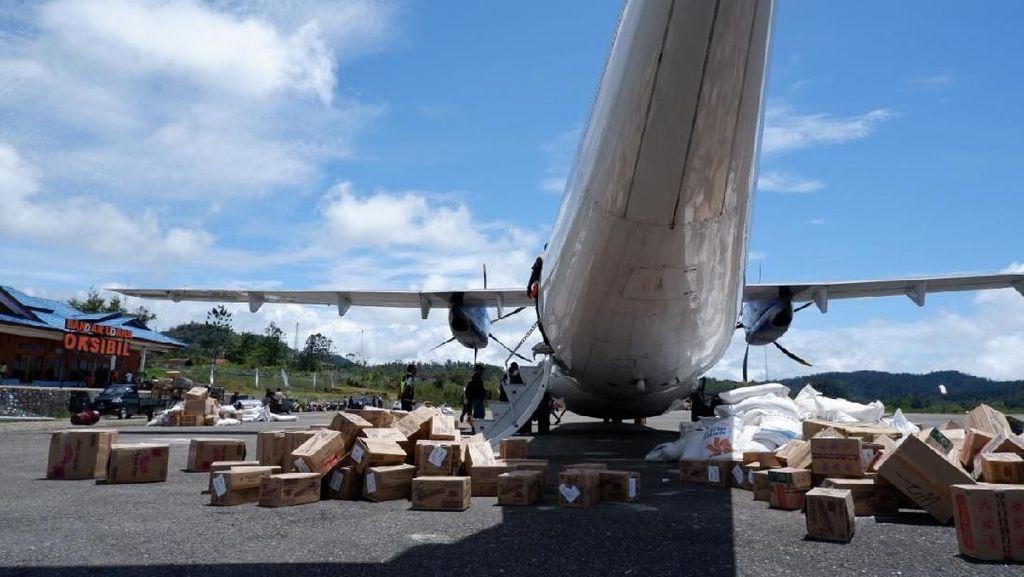 Jembatan Udara di Papua Dinilai Mampu Tekan Harga Sembako