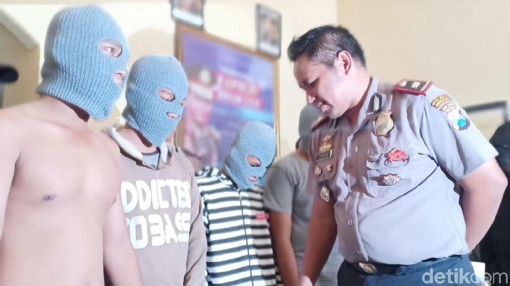 Tujuh Pelaku Perusak Warung Kopi di Probolinggo Dibekuk