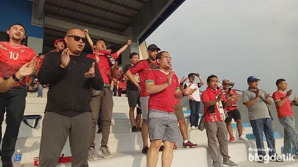 Kemeriahan Suporter Timnas Indonesia Jelang Lawan Laos