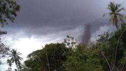 Rumah Kebun di Gowa Terlempar 30 Meter Diterpa Puting Beliung, 1 Orang Tewas
