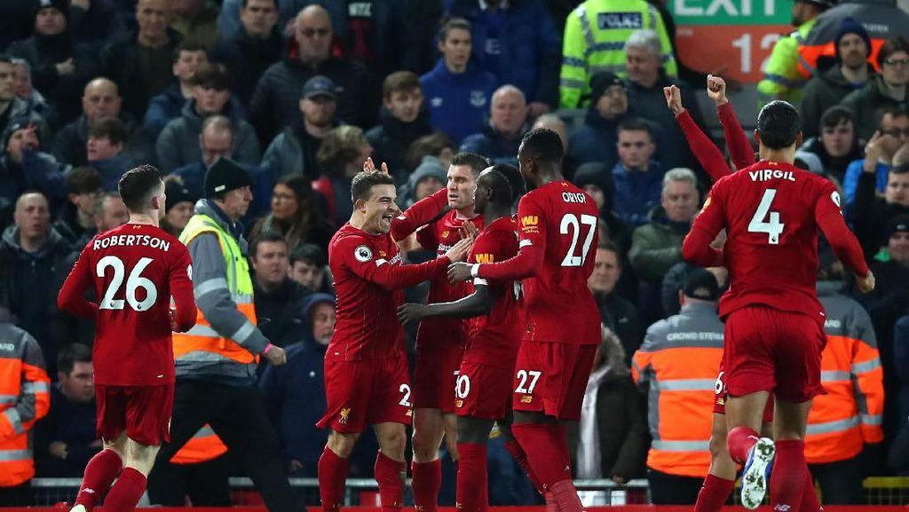 Video 5 Gol Bukti Keperkasaan Liverpool saat Libas Everton