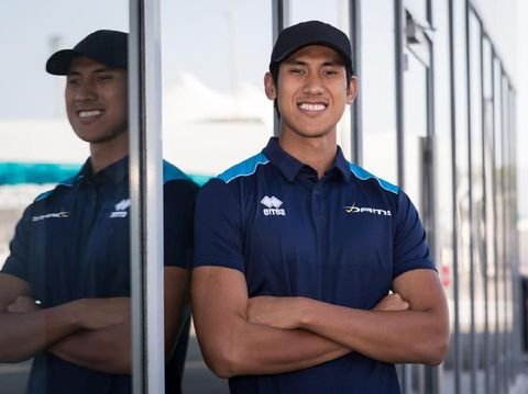 Sean Gelael perkuat tim DAMS di F2 2020