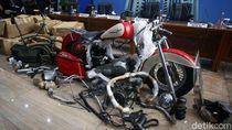 Harley-Davidson yang Diangkut Garuda, Moge Tahun 70-an