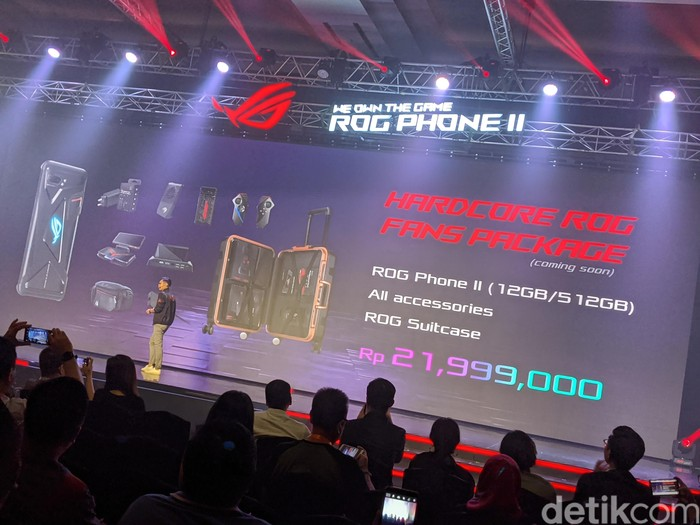 ROG Phone 2 paket lengkap. Foto: Adi Fida Rahman/detikinet