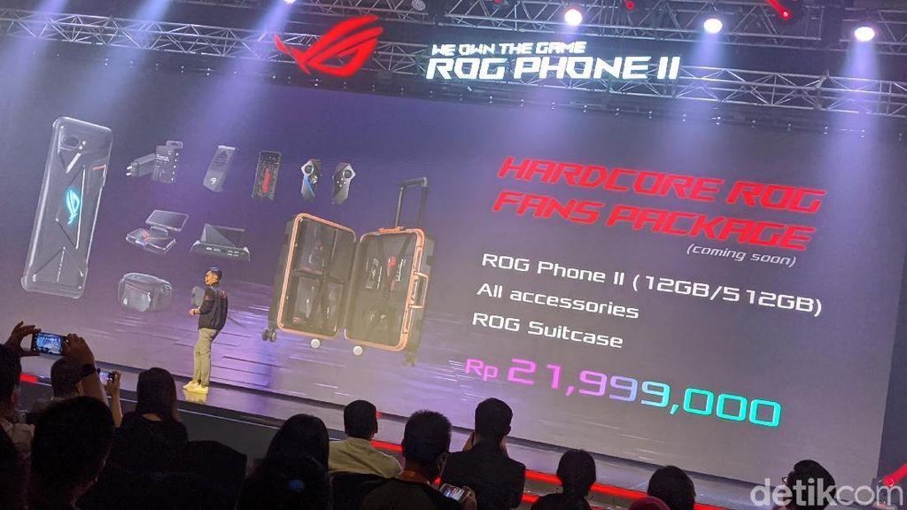 Asus ROG Phone 2 Versi Sultan Harganya Bikin Melongo
