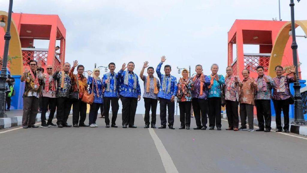 Puluhan Kepala Daerah Diajak Jalan-jalan ke Kampung Tematik Tangerang