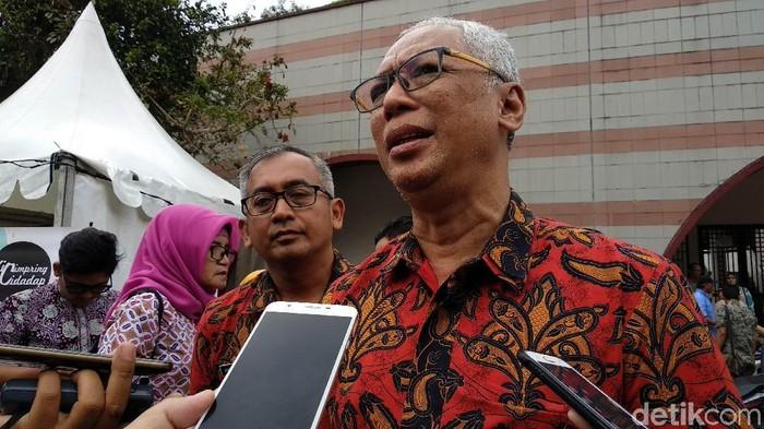 Kepala Badan Pengelolaan Pendapatan Daerah Kota Bandung Arief Prasetya (Mochamad Solehudin/detikcom)