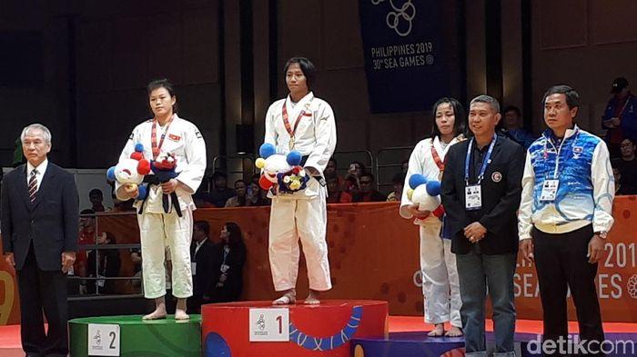 Indonesia menambah lima emas dua di antaranya dari Judo (Foto: detik.com/Mercy Raya)