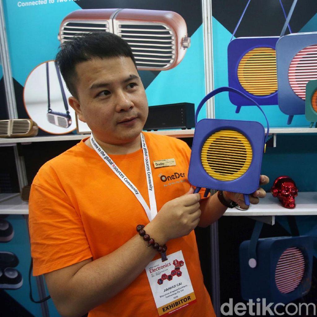 Beragam Produk Elektronik China hingga Korsel Dipamerkan di JCC
