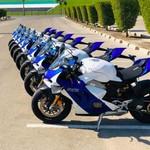 Saat Ducati Panigale Jadi Motor Patroli Polisi Abu Dhabi