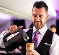 Minum Kopi di Pesawat Ini, Gelasnya Juga Bisa Dimakan
