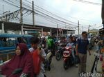 Stasiun Bojonggede Semrawut, Dishub Cerita Kucing-kucingan Ojek-Angkot