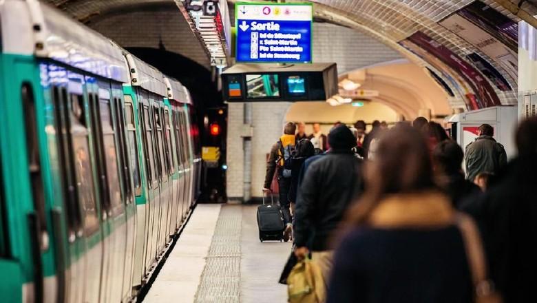 Ilustrasi stasiun di Prancis (iStock)
