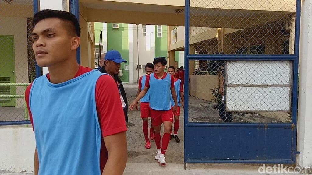 Timnas Indonesia Vs Laos Manfaatkan Kelas SMA untuk Ruang Ganti