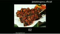 Ubah Lirik Lagu Jadi Makanan Indonesia, Dubber Medok Ini Bikin Netizen Ngakak